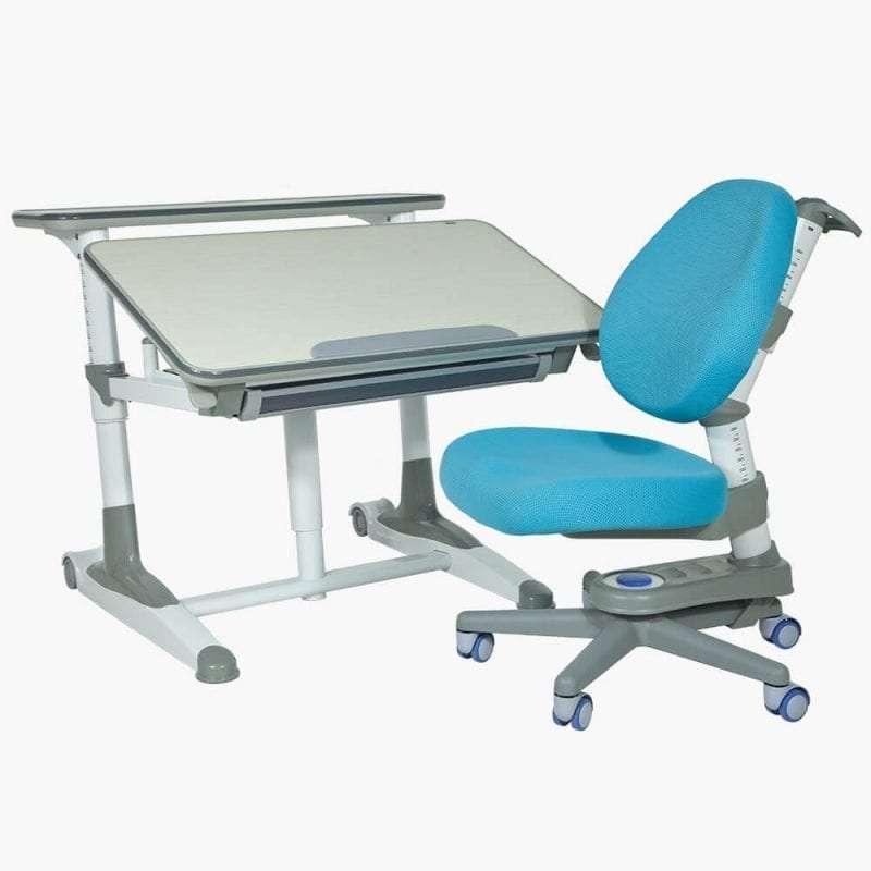 Care-D 兒童書枱椅套裝(藍色)