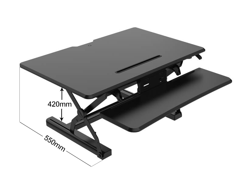 Lifting table-standing-desk-converter-104-size-2