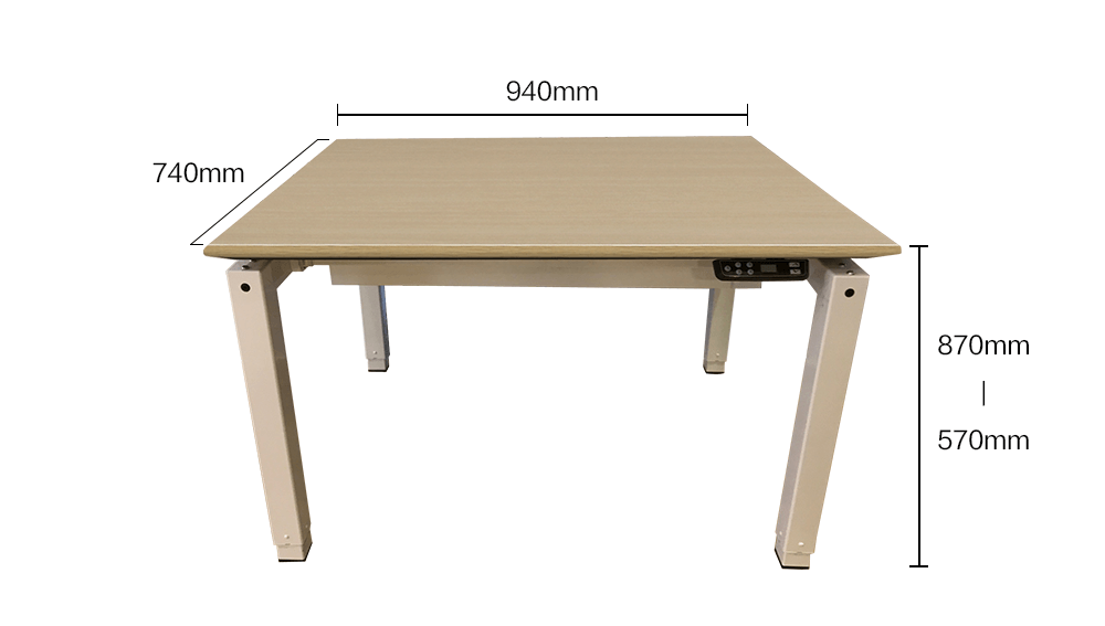 Dining desk_Specification-infographic