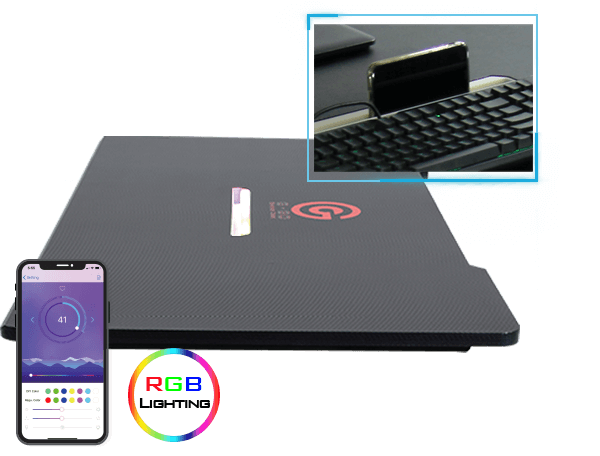 GDTS 4F 電競桌-RGB Slot