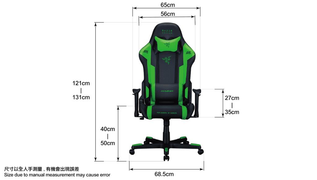 Razer Green-Size-infographic