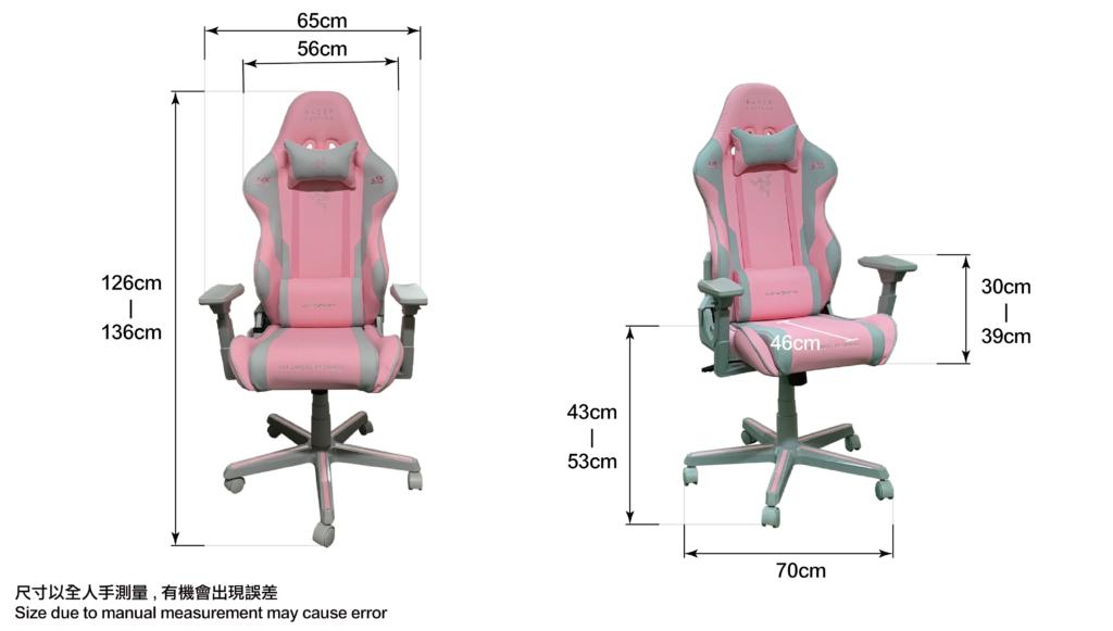 Razer Pink-Size-infographic