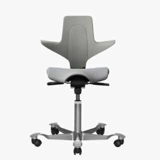 HAG – Capisco Puls 8020 馬鞍椅 – 深灰色 (灰色椅套)