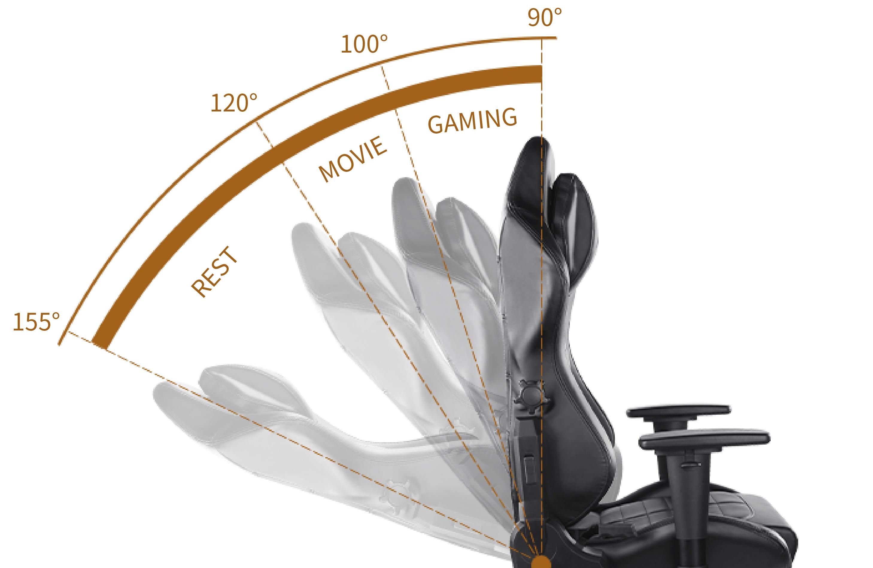 DXRacer-Master-155 Angle Backrest