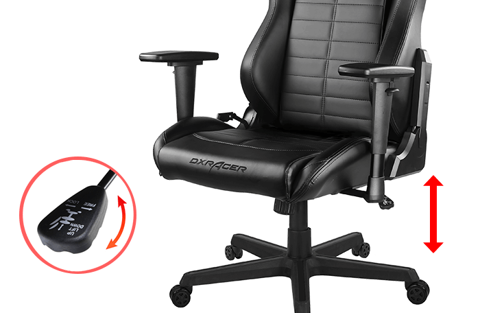 DXRacer Master-Height Adjustable