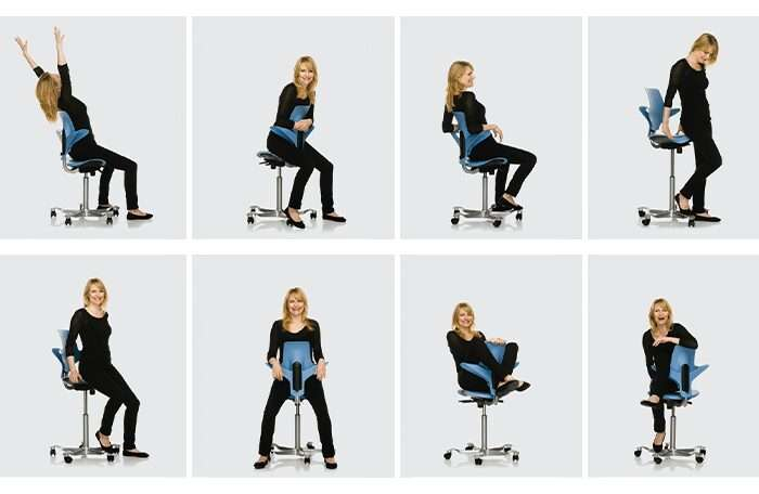 Capisco puls-Flexibility design